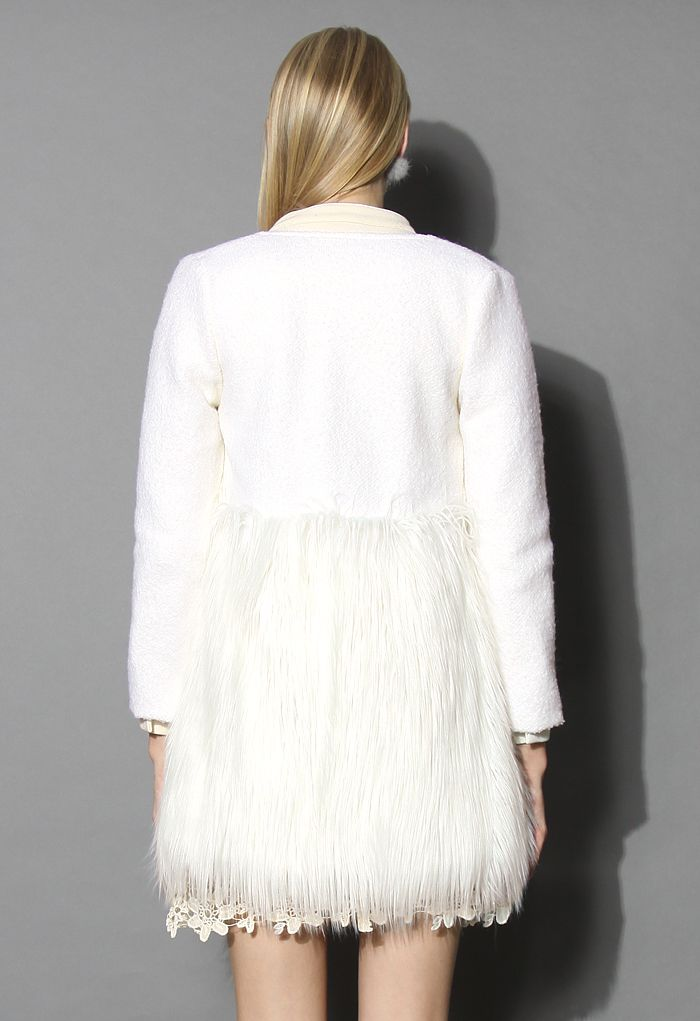 Winter Essential Faux Fur Coat