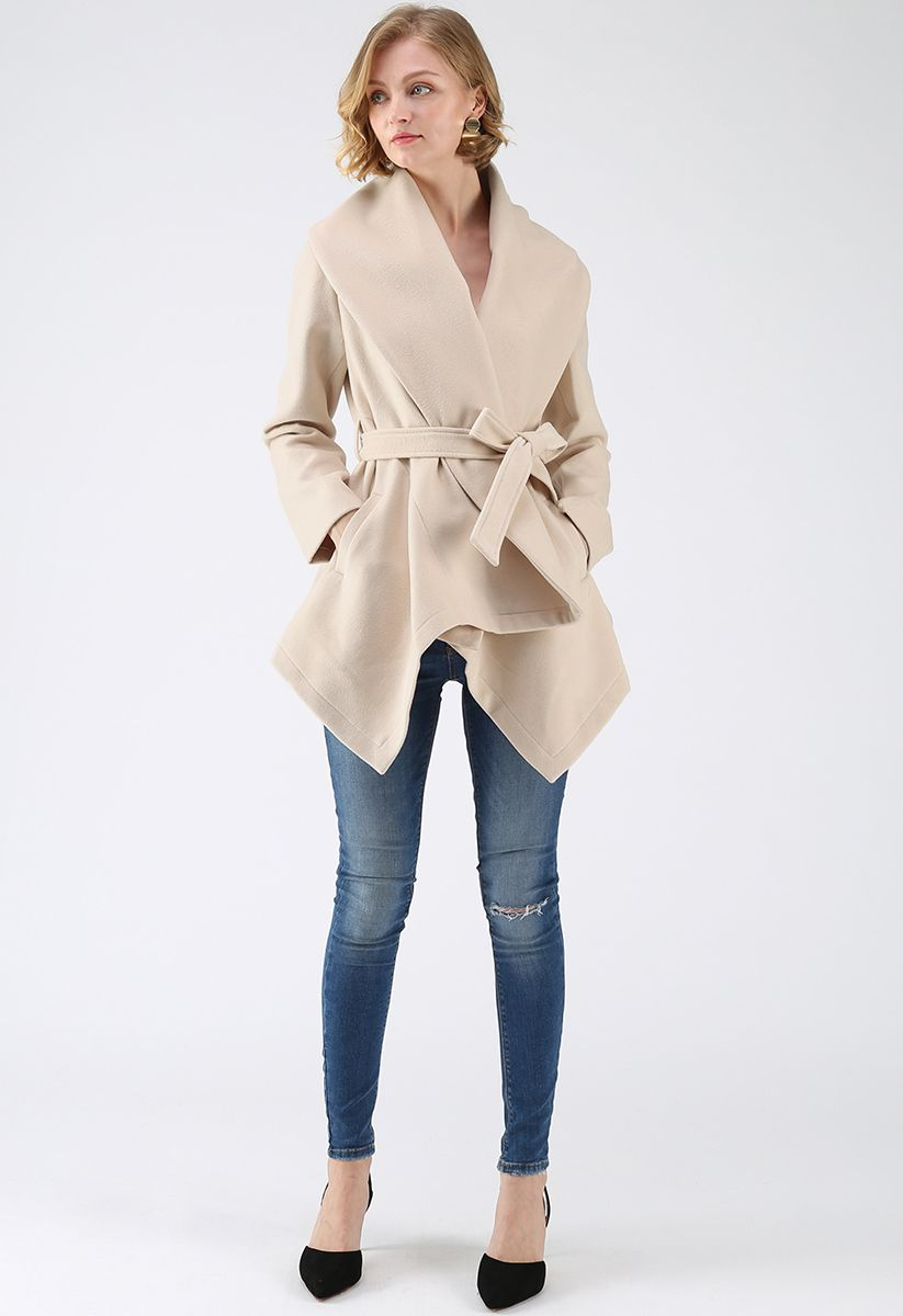 Prairie Rabato Coat in Cream