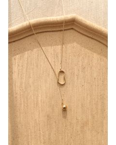 Ball Clasp Chain Necklace