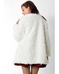 Faux Fur Duffle Coat