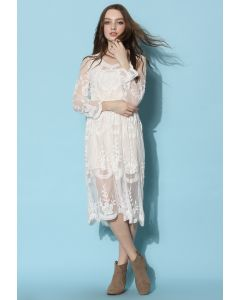 Boho Breeze Sheer Lace Dress
