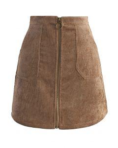 Fashion Devotion Bud Skirt in Tan
