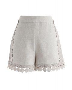 Vogue Devotee Crochet Shorts