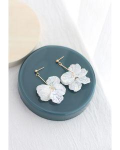 Plastic Shell Drop Earrings