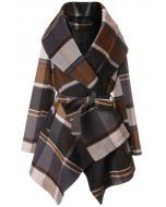 Prairie Check Rabato Coat by Chic+